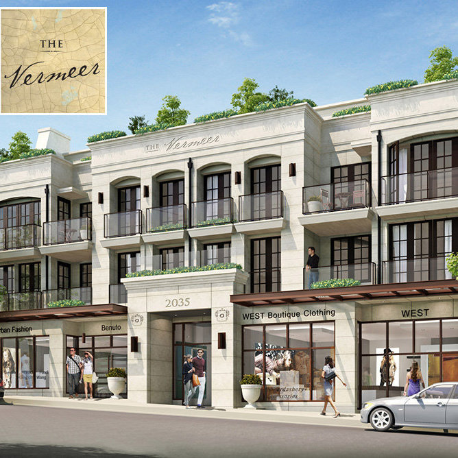 Vancouver Luxury Condos: THE VERMEER IN KITS, Affordable Vancouver Westside Condos